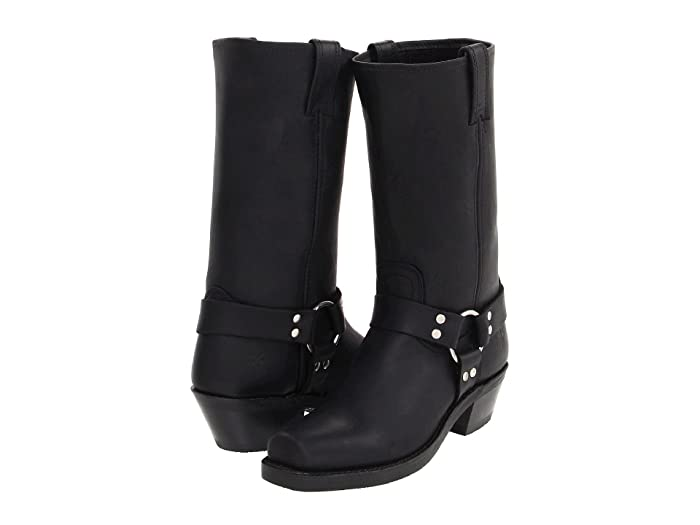 Frye  Harness 12R (Black) Womens Pull-on Boots