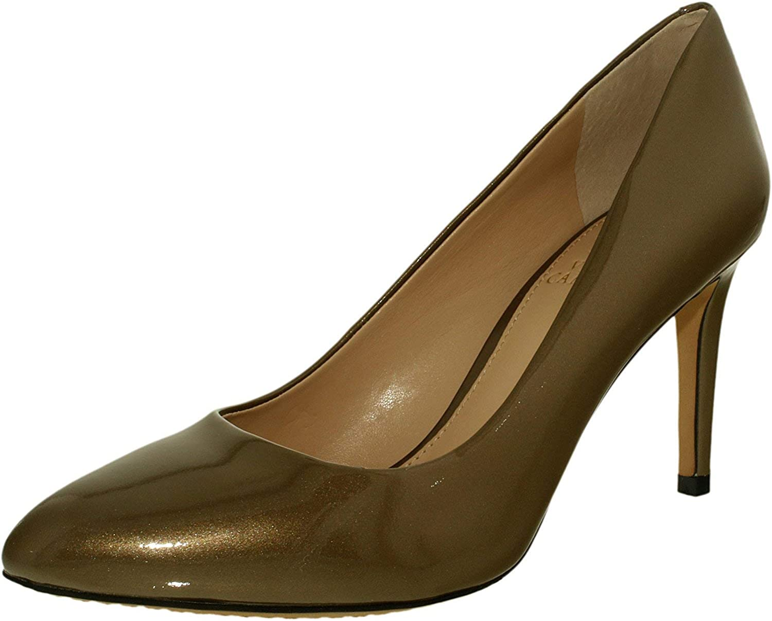 Vince Camuto Women's Langer Patent Ankle-High Pump