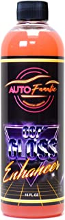 AUTO FANATIC 007 Gloss Enhancer Refill | Instant Hydrophobic Water Beading & Intense Gloss Enhancing Spray Sealant Detailer | Ceramic Coating Safe for All finishes