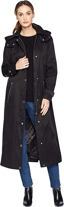 Classic Hooded Raincoat