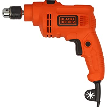 BLACK+DECKER KR5010 500W 10mm Single Speed Hammer Drill/Driver