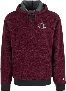Champion Mens Fleece Pullover Hoodie Purple XL