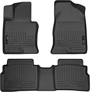 Husky Liners Front & 2nd Seat Floor Liners Fits 11-14 Sonata GLS/Limited/SE