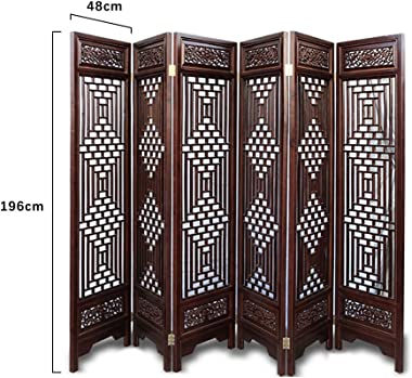 Even Antique Brown Living Room Decoration Screen,Charm Oriental Traditional Furniture,Folding,Wall Divider