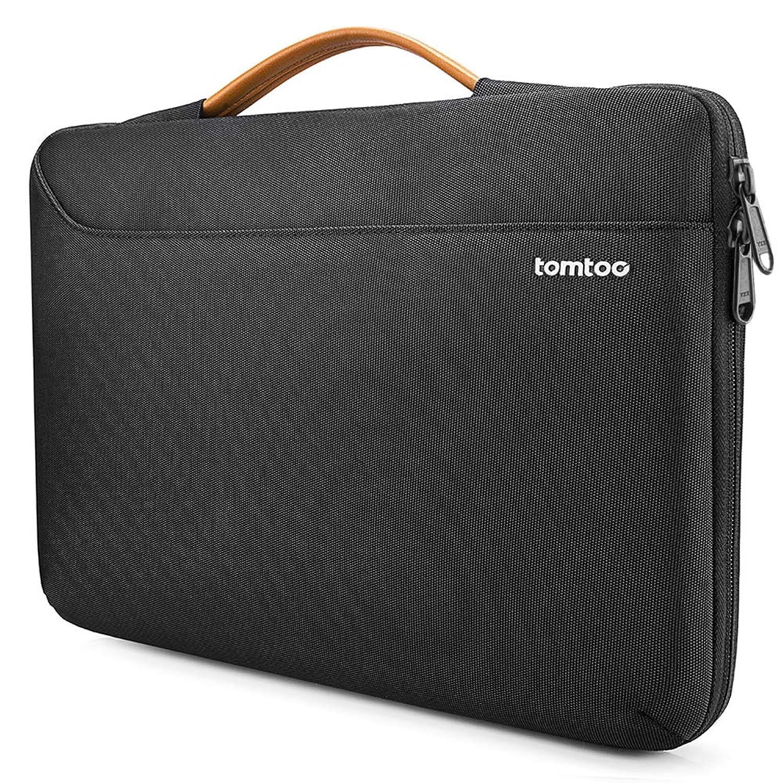 tomtoc ラップトップスリーブ 15インチ MacBook Pro Retina搭載 A1398 | Dell XPS 15 | 15インチ Surface Book 2 対応 ビジネスバッグ 耐衝撃 ブラック