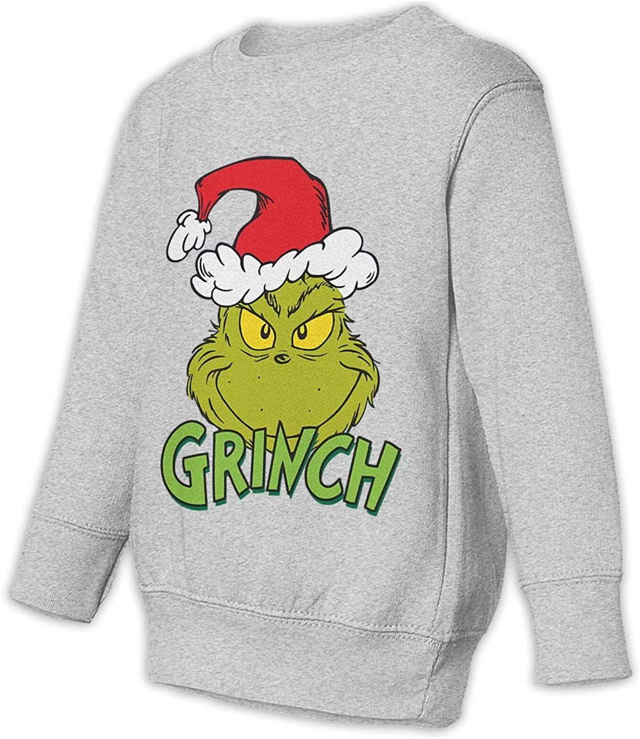 Long Sleeve,Personality and Novelty DEMO QUEEN The Grinch Stole Christmas21 Kids Unisex Round Neck Sweatshirt