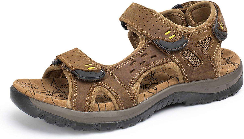 ANDTUN-sandal Summer Leisure Leather Sandals The Big Yards Men's Sandals Size 38-45