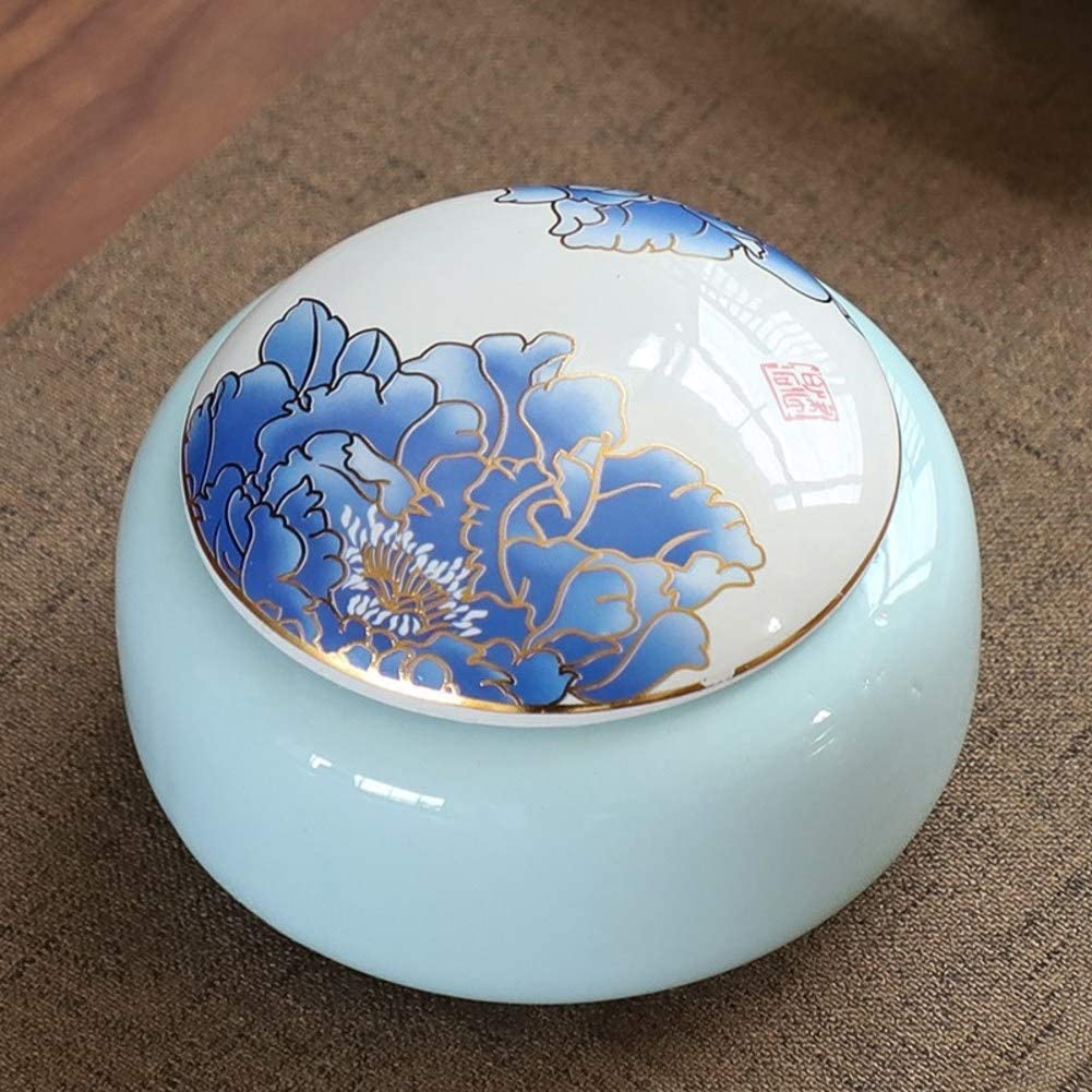 favorite RYQS Ceramic Moisture-Proof Tea Manufacturer direct delivery Stora Chinese-Style Canister