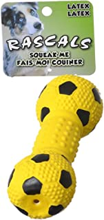 Best latex dumbbell dog toy Reviews