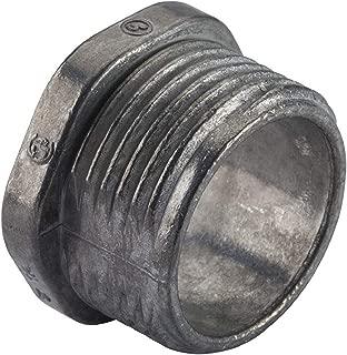 """Halex 20701 RIGID CHASE NIPPLE 2/BAG, 1/2"""", Silver"""