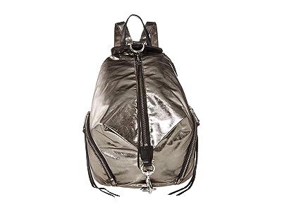 Rebecca Minkoff Julian Nylon Backpack (Gunmetal) Backpack Bags