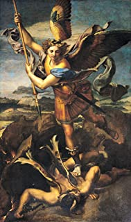 kunst für alle Art Print/Poster: Raphael St Michael Overwhelming The Demon 1518