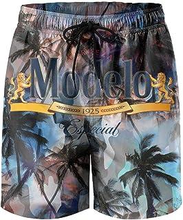 jdadaw Men's Beach Shorts Modelo-Especial-Logos- Summer Quick Dry Swimming Pants