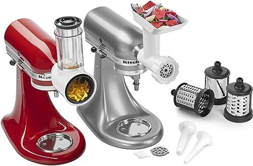 2021 KitchenAid KSMGSSA Mixer Attachment wholesale lowest Pack, White outlet sale