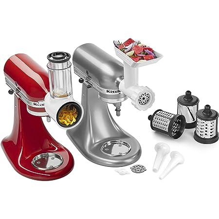 Amazon Com Kitchenaid Ksmgssa Mixer Attachment Pack White Kitchen Dining