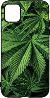 Leaves Cannabis Marijuana Background Wallpaper Case Compatible with iPhone 11,088228 for iPhone 11