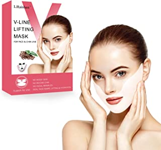 V Line Face Mask Neck Mask Chin Up Patch Face Lift Double Chin Reducer V-Line Face..