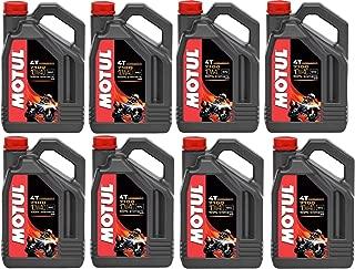 Motul 104092 Set of 8 7100 4T 10W-40 Motor Oil 1-Gallon Bottles