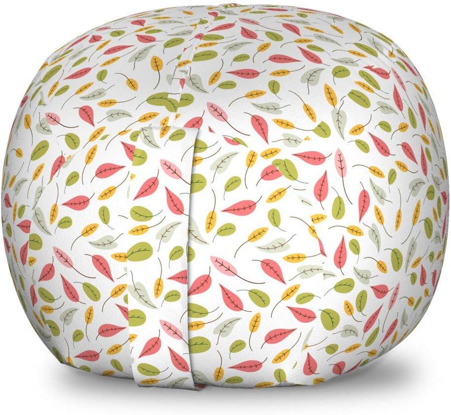 Ambesonne Spring Storage Toy Bag Pastel Tone Chair Selling rankings Soft Colorfu 5 ☆ popular
