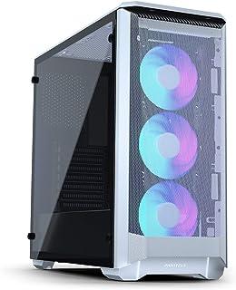 Phanteks PH-EC400ATG_DWT01 Medium Tower ATX Eclipse P400A RGB with Glass Panel (White)