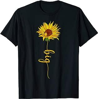 Sun Flower Big Sister Sorority Tee T-Shirt