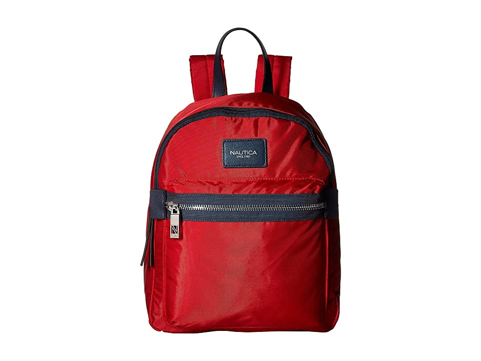 Nautica Armada Formation Backpack (Red) Backpack Bags
