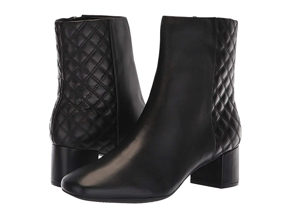Clarks Tealia Luck (Black Leather 1) Women