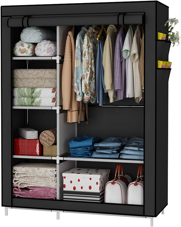 UDEAR Closet Organizer Wardrobe Non-Wov Clothes price Shelves Max 40% OFF Storage