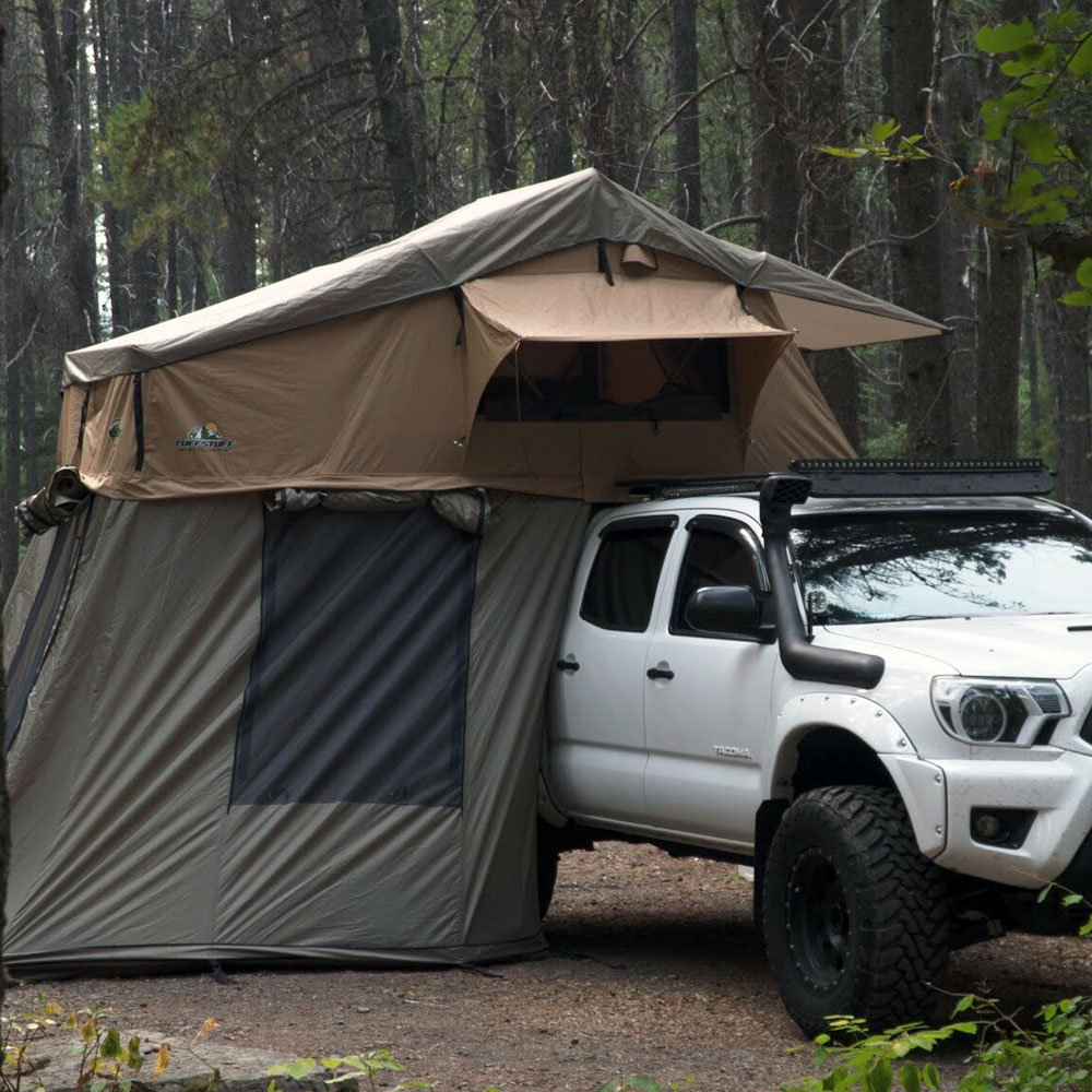 Tuff Stuff Ranger Overland Rooftop Tent with Annex Room & Roof Top Tent: Amazon.com