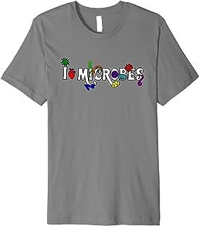 Steampunk Phage: I Heart Microbes T-Shirt