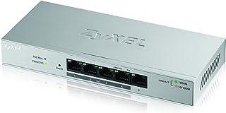 (60 وات PoE+، 5 منافذ Smart Plus (غير محكم) - محول شبكة جيجابت إيثرنت 5 منافذ من زيكسيل مع ميزانية 60 واط [GS1200-5HP]