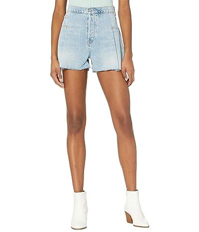 Hudson Jeans Paperbag Loose Shorts in Mirrors Women