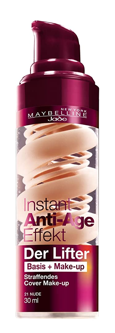 免除する幼児装置Maybelline New York Instant Anti-Age Der Lifter - 2in1 Basis + Make-Up 21 Nude, 30 ml