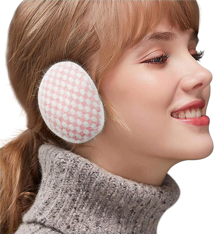 Ear Warmers,Unisex Bandless Earmuffs,Soft Winter Earmuffs For Women Men Lightweight/Comfortable