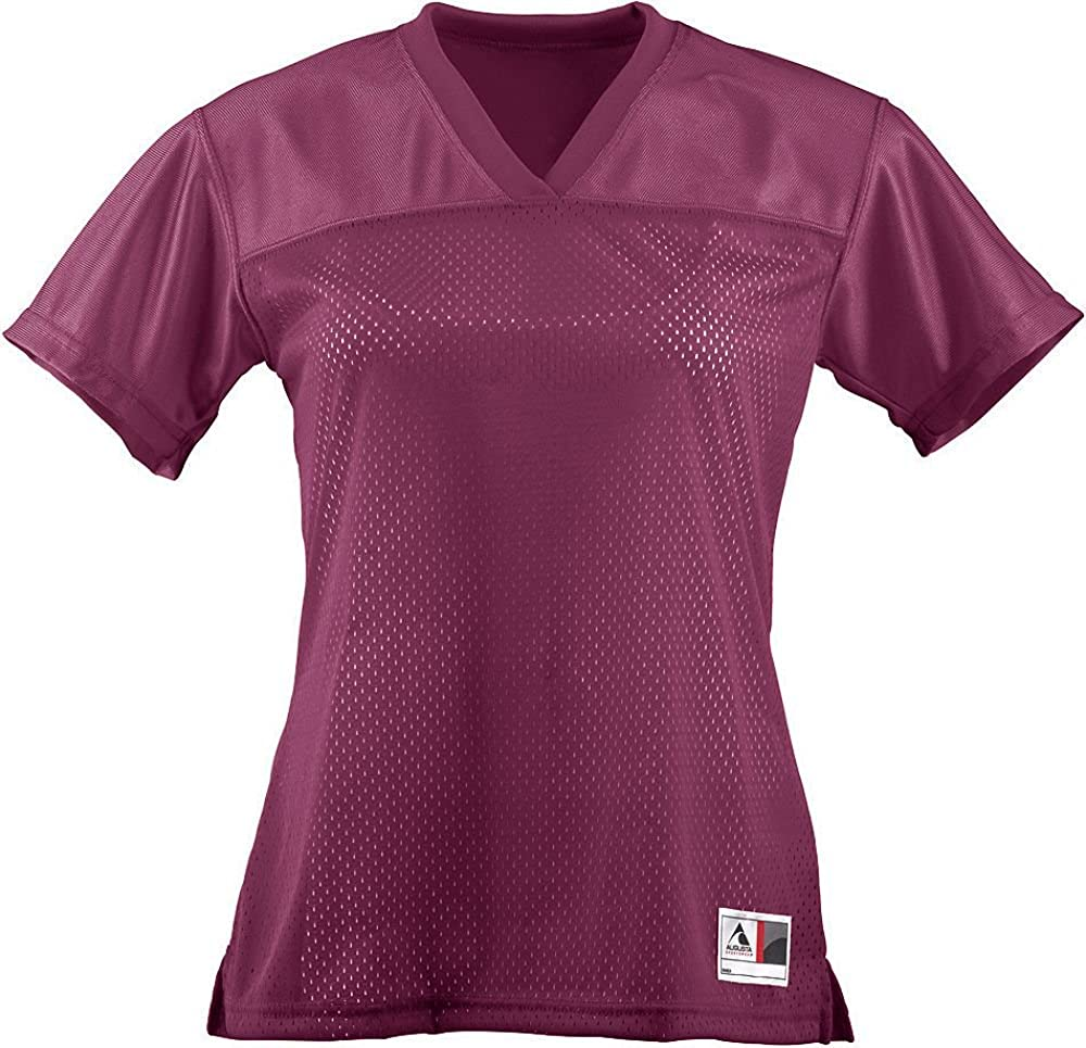 Augusta Sportswear Girls Junior Fit Replica Football Tee