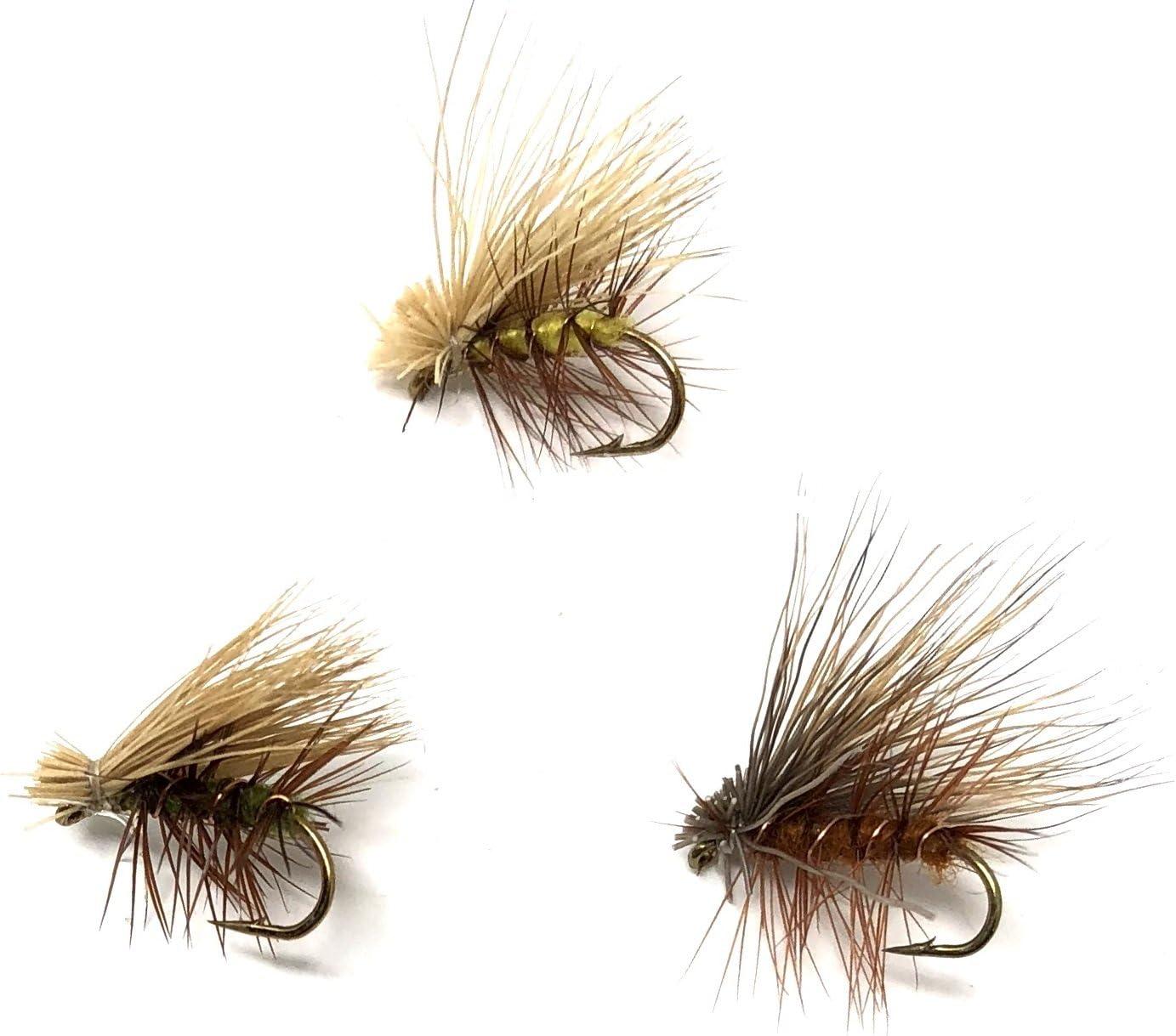 Feeder Creek Elk Rapid rise El Paso Mall Hair Caddis Fly Attract Assortment Fishing