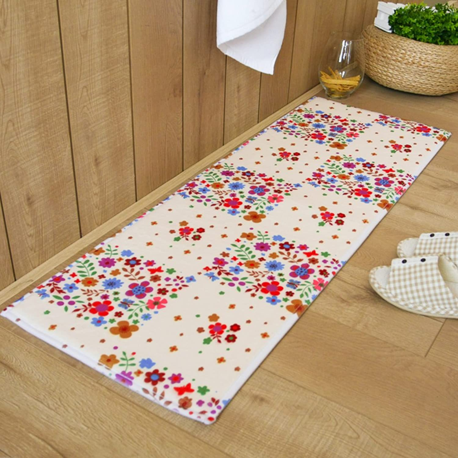 Mats Mat Toilet Kitchen Bedroom Bathroom Absorbent N-Slip Mats-A 20x31inch