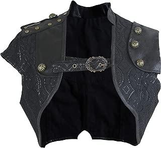 Women's Steampunk Gothic Lace Brocade Corset Shrug