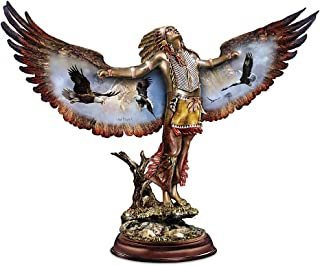 The Bradford Exchange Sculpture: Invoking The Sacred Guardian Sculpture