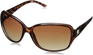 Foster Grant womens Poppet Sunglasses, Tortoise/Brown, 61.2 mm US