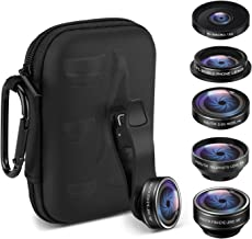 Cell Phone Camera Lens Kit,ARORY 5 in 1 iPhone Lens with...