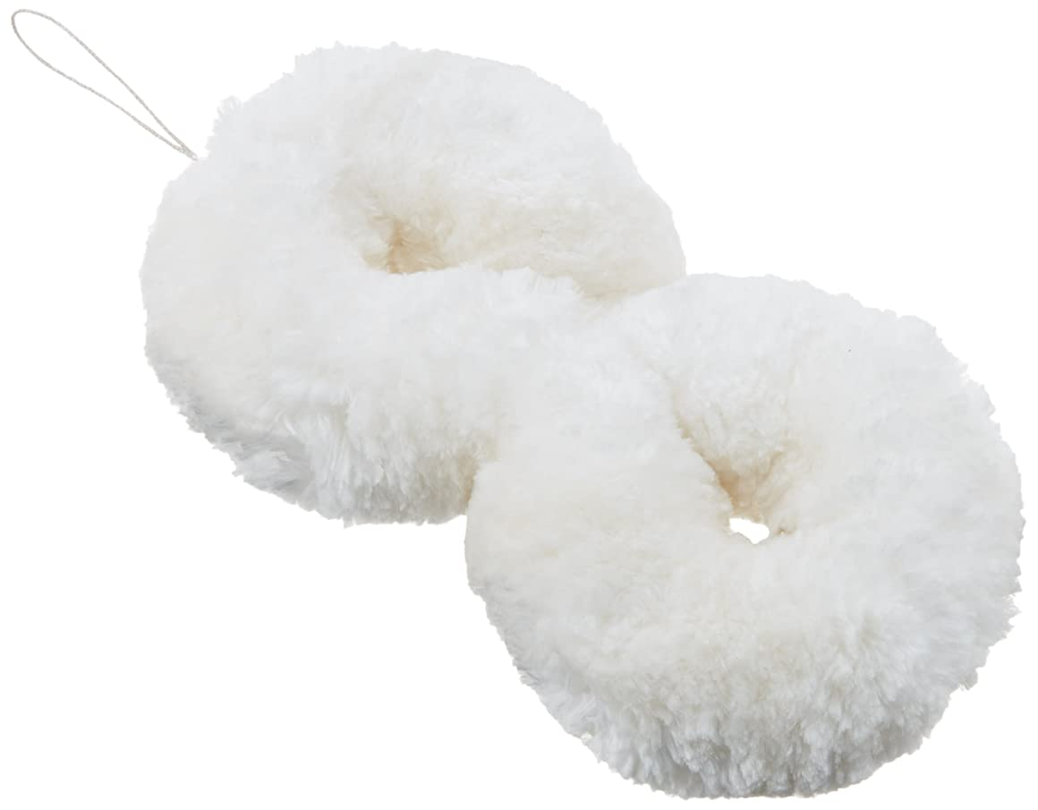 聖歌アセ受取人シルク?スキンブラシ 雪繭?ドライタイプ?絹糸100%?特大サイズ