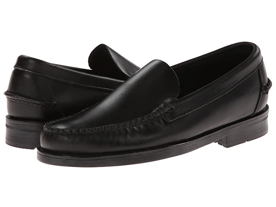 Sebago Grant Venetian (Black Leather) Men