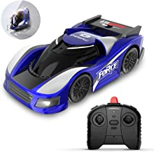 DEERC RC Cars for Kids Remote Control Car Toys with Wall Climbing,Low Power Protection,Dual Mode,360°Rotating Stunt,Rechargeable High Speed Mini Toy Vehicles with LED Lights Gifts for Boys Girls