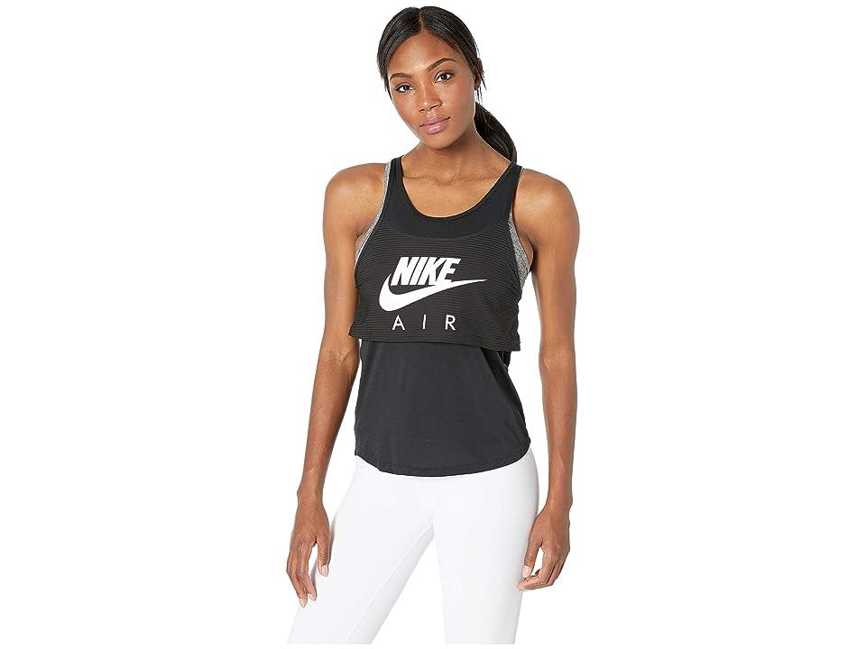 Nike Air Tank Graphic (Black/White) Women