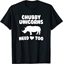 chubby unicorns need love too t shirt