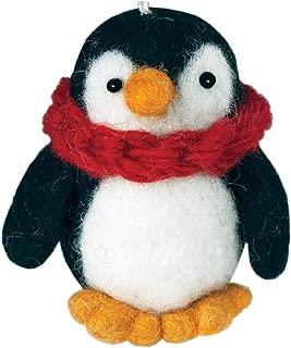 Wild Woolies Felt Penguin Ornament