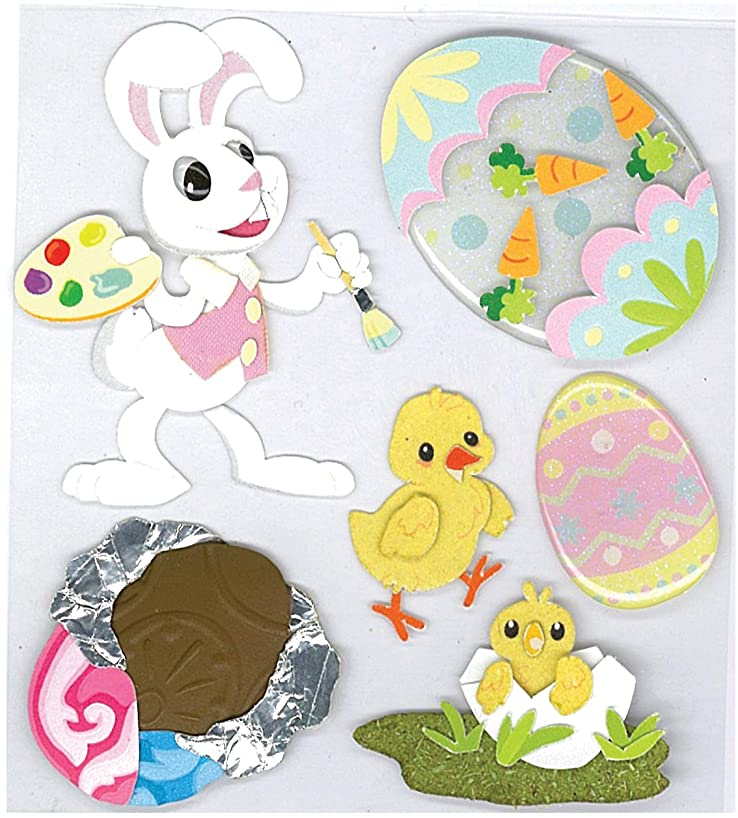 Jolee's Boutique Bunny Artist Dimensional Stickers