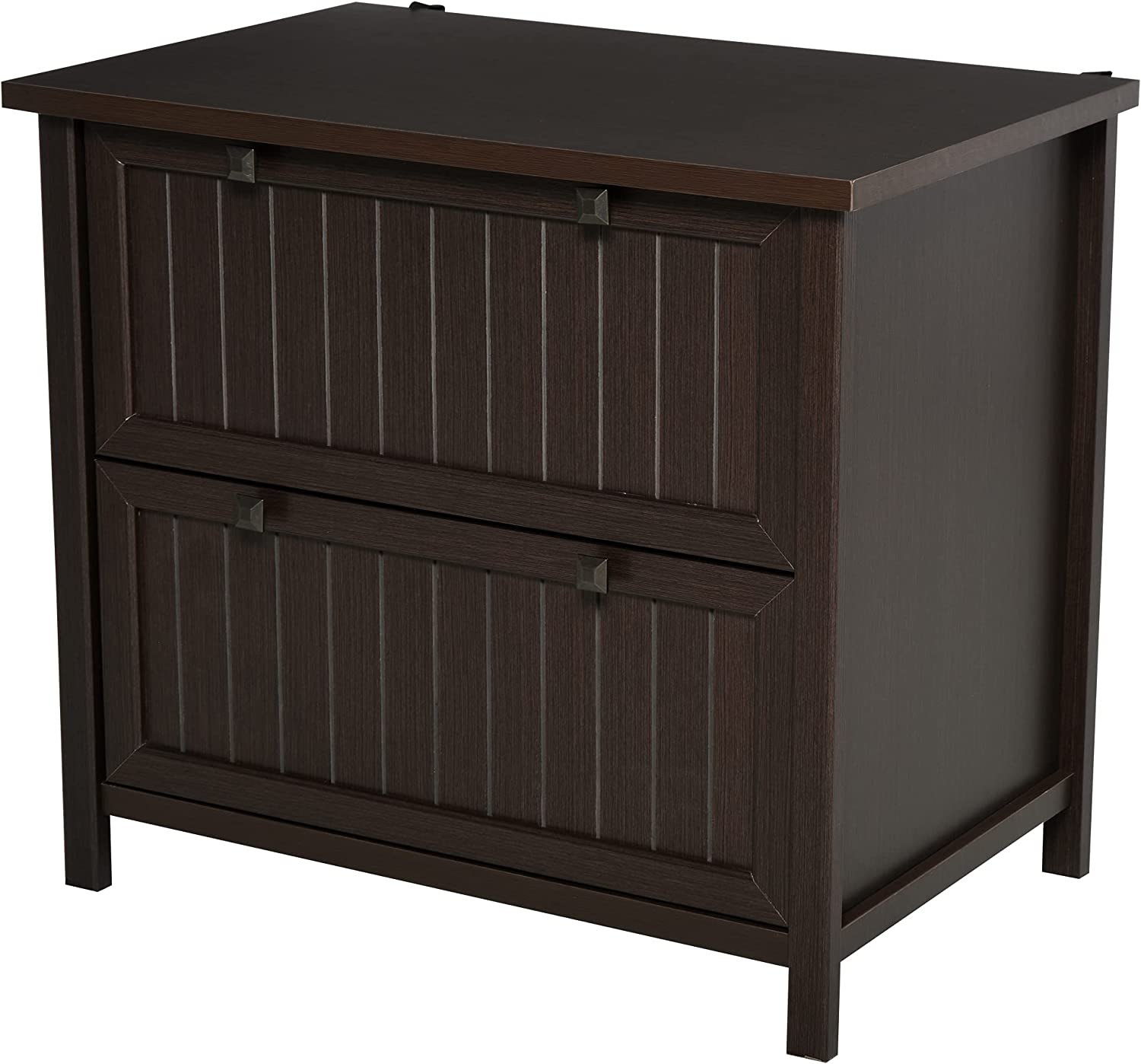 HOMCOM Retro Style 2-Drawer Virginia Beach Mall Lateral File Wooden Do Cabinet Chest Inexpensive