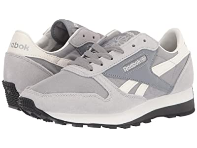 Reebok Lifestyle Classic Leather Az (Cold Grey/Chalk) Shoes